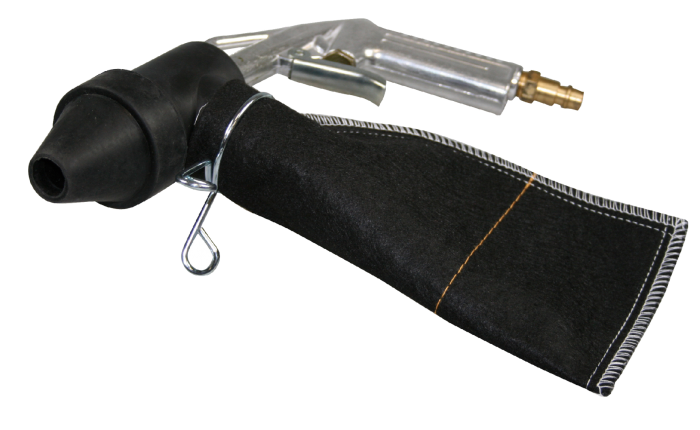 Pistolul pentru sablat cu saculet SW-Stahl 25065L 4 duza ø 15.0 mm
