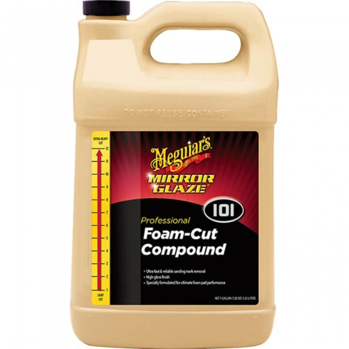 Pasta polish abraziva Meguiar's - Mirror Glaze Foam Cut Compound 3.78 litri