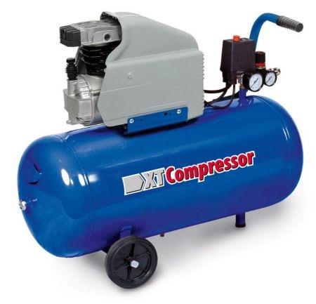 Compresor aer cu piston lubrifiat 50 litri XT Tools