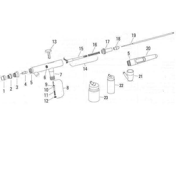 AEROGRAF PROFESIONAL DEVILBISS DAGR 0.35 MM 3