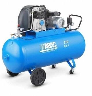 Compresor aer cu piston lubrifiat 270 litri ABAC