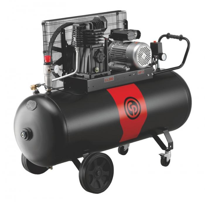 Compresor aer cu piston lubrifiat 200 litri Chicago Pneumatic CPRC 3200 NS19S MT