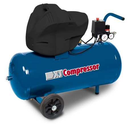 Compresor aer cu piston uscat 50 litri XT Tools