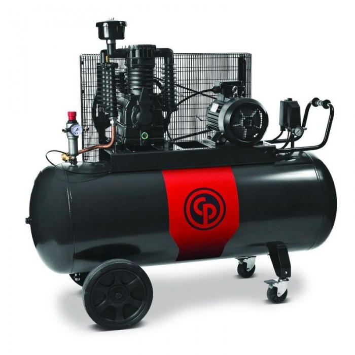 Compresor aer cu piston lubrifiat 270 litri Chicago Pneumatic CPRD 6270 NS39 MT 0