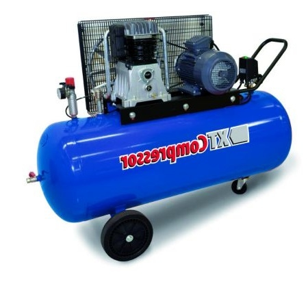 Compresor aer cu piston uscat 270 litri XT Tools