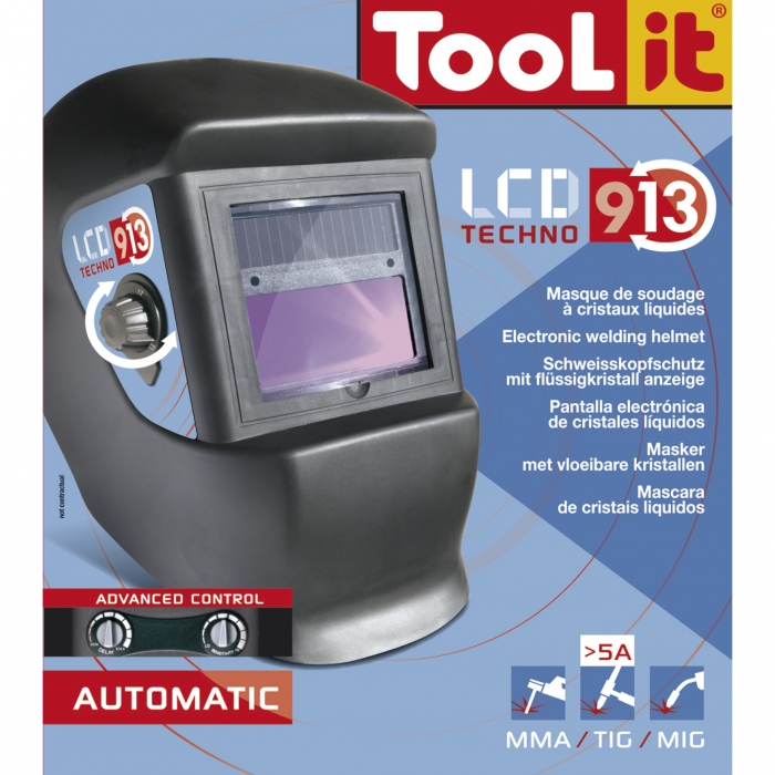 Masca sudura GYS Techno LCD 9-13 1