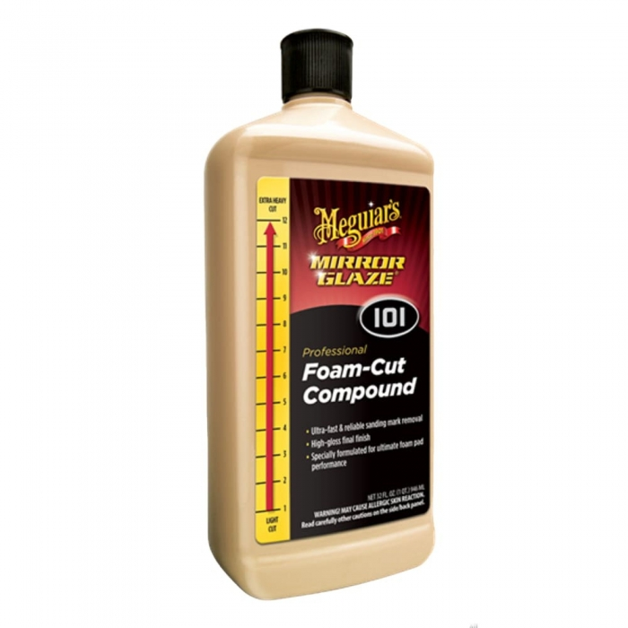 Pasta polish abraziva Meguiar's - Mirror Glaze Foam Cut Compound 946 ml