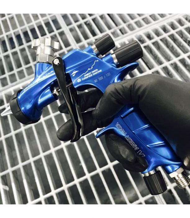 Pistol de vopsit Anest Iwata Pininfarina TurnPike Hakone duza ø 1,3 mm 8