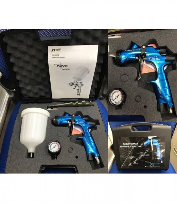 Pistol de vopsit Anest Iwata Pininfarina TurnPike Hakone duza ø 1,3 mm 6