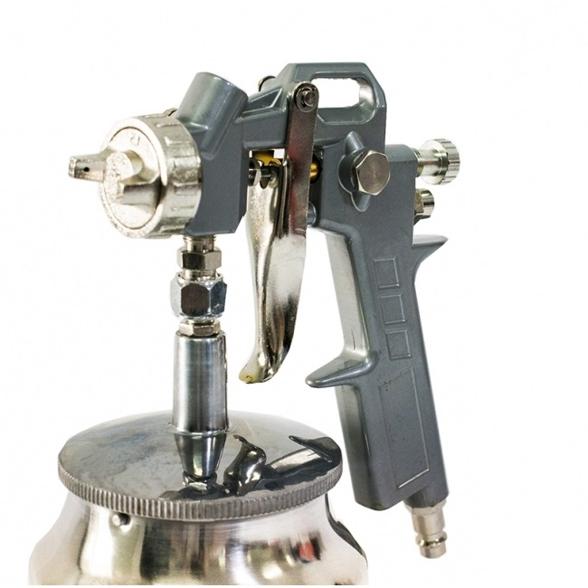 Pistol de vopsit Matrix cana jos metalica 750 ml