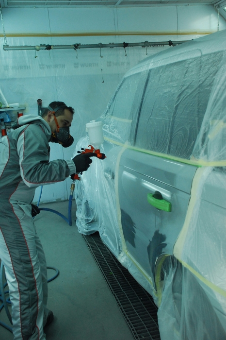Pistol de vopsit Sagola 3300 GTO Car Tech LAC + Manometru 2