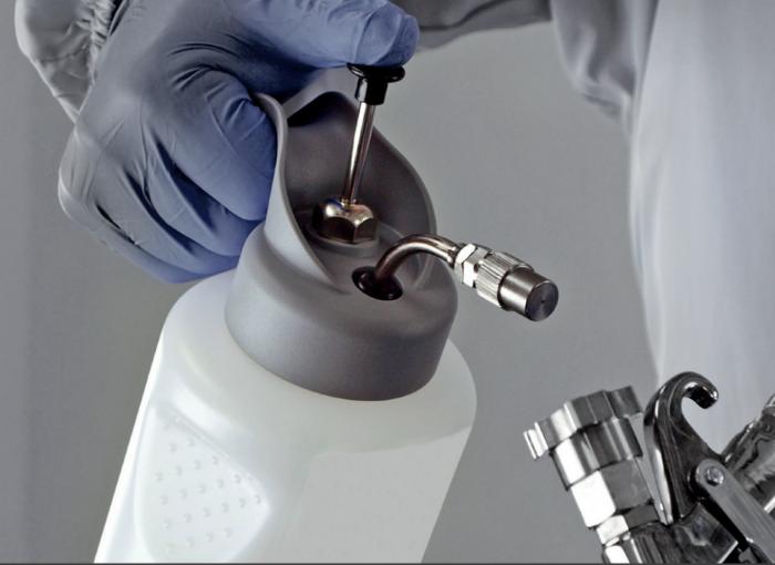 Pompa pulverizat Anest Iwata HCA12.0 High Quality Silver (WB) 1 litru 2